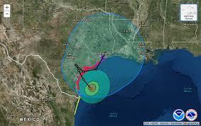 weather usa map hurricane harvey path when will hurricane harvey hit