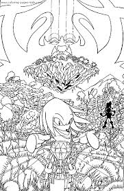 sonic characters coloring pages sonic the hedgehog color page coloring pages for kids cartoon