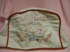 Toaster Covers Embroidered Toaster Covers Set Of 2 2 Slice Toaster Redwork
