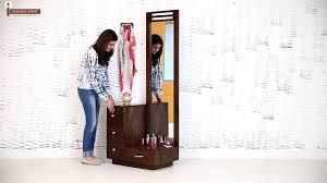 Dressing Table Designs With Full Length Mirror For Girls Dressing Unit Buy Carlton Dressing Unit Online Wooden Steet