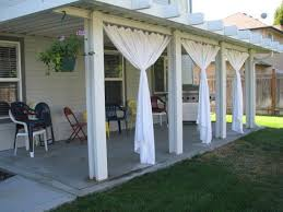 Outside Patio Covers by Best 25 Outdoor Blinds Ideas On Pinterest Outdoor Drapes