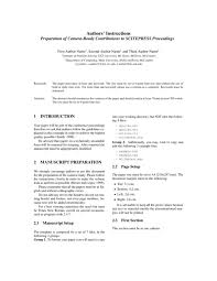scitepress conference paper template latex template sharelatex