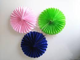 tissue paper fans supplies 15cm paper fans tissue paper border fans