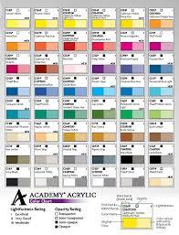grumbacher academy acrylic colors 3 fl oz 90 ml