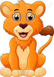 little lion cartoon royalty free cliparts vectors and stock