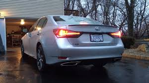 2017 lexus gs 350 new 2016 lexus gs350 f sport startup u0026 exhaust youtube