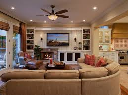 How To Decorate A Large Wall by Everything About This Living Room Was Designed With Comfort In