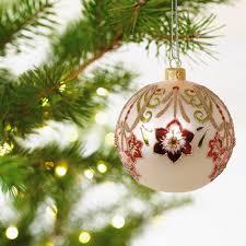 amaryllis blown glass ornament specialty ornaments hallmark