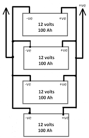 connecting caravan batteries