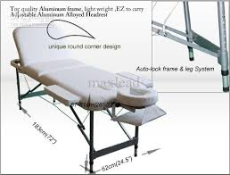 fold up massage table for sale 2018 new 3 portable section massage tables w aluminum alloy headrest