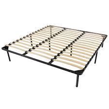 wooden slat metal bed frame wood slats platform bedroom mattress