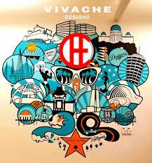 vivache designs murals custom murals mural wall mural wall murals painted murals