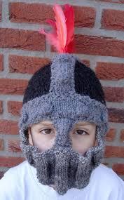 crochet pattern knight helmet free fun hats knitting patterns in the loop knitting