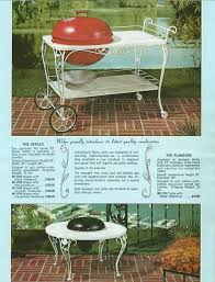 Patio Table Grill 43 Best 50 U0027s Patio Furniture Images On Pinterest Vintage Patio
