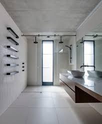 Open Bathroom Bedroom by Wall Panels Bathroom Bedroom Contemporary With Gray Carpet