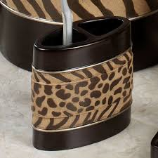 Cheetah Print Bathroom Set by Bathroom Accessories Bathroom Trends 2017 2018