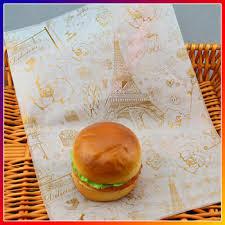 hamburger wrapping paper hamburger packaging paper burger wrapping paper greaseproof paper