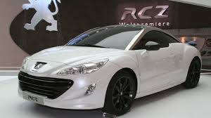 peugeot coupe rcz interior peugeot rcz limited edition announced