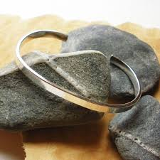 cuff bracelet sterling images Men 39 s sterling silver cuff bracelet 5mm x 2mm x 6 5 quot steph jpg