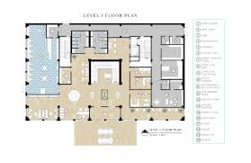 floor plans with porte cochere hospitality u2014 jessica meli interior design