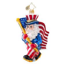 christopher radko ornaments 2014 radko patriotic flag ornament