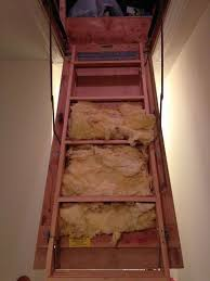 insulation for pull down attic steps hometalk