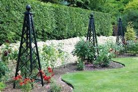 obelisk garden obelisks diy garden obelisk trellis aynova club