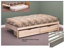 nomad solid wood platform bed in twin full queen u0026 king