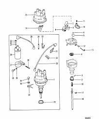 distributor u0026 coil for mercruiser 165 hp 3 7l 170 hp 180 hp
