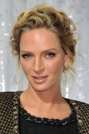 hair in a bun for women over 50 7 uma thurman hairstyles short blonde updos page 1 of 1