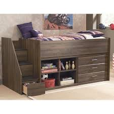 juararo youth loft bed w options signature design by ashley