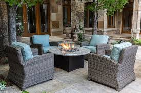 patio furniture with fire pit table easy fire pit chat set wealth gas conversation outdoor furniture