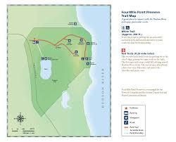 Hudson River Map Four Mile Point Preserve Scenic Hudson