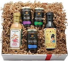 Food Gift Boxes Amazon Com Deluxe Asian Gourmet Gift Box Gourmet Sauces Gifts