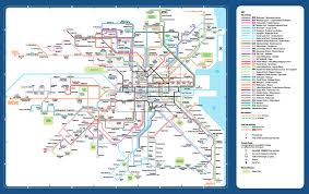 Maps Route by Maps Of Public Transport Services Transport For Ireland