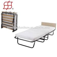 Single Folding Bed Cheap Simple Design Portable Metal Single Folding Bed Fold Up Beds