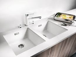 Sinks Stainless Steel Divided Apron Sink With Chrome Faucet And - Kitchen sink quality