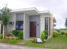 bungalow house design with firewall home shape
