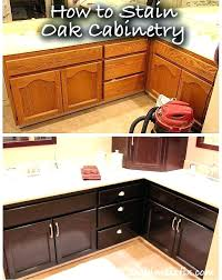restain kitchen cabinets darker staining oak kitchen cabinet stain oak kitchen cabinets darker