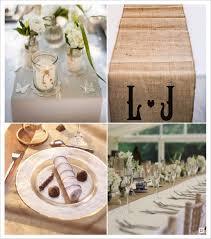 chemin de table mariage chemin de table et deco de table