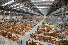 amazon warehouse black friday a 21st century santa u0027s grotto the amazon warehouse getting ready