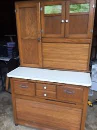 hoosier kitchen cabinet ebay