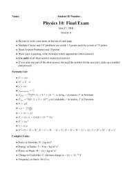 calculating work worksheet answer key