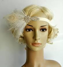 feather headbands flapper feather headband headpiece hairpiece great gatsby