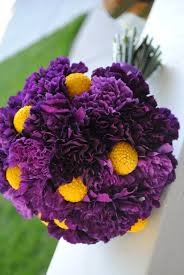 purple and yellow flower arrangements flower purple and yellow
