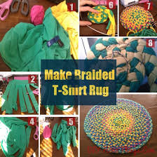 Make Rug From Carpet Make A Rug From Old T Shirts Roselawnlutheran