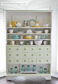 apothecary cabinet painted furniture makeover fox hollow cottage