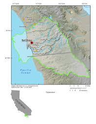San Diego Ca Map by Usgs Ca San Diego Hydrogeology