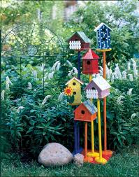 Ideas For Your Backyard Cute Birdhouse Ideas For Backyard Decoration About Pet Life