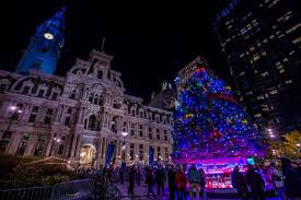 photos philly landmarks transformed for the holidays curbed philly